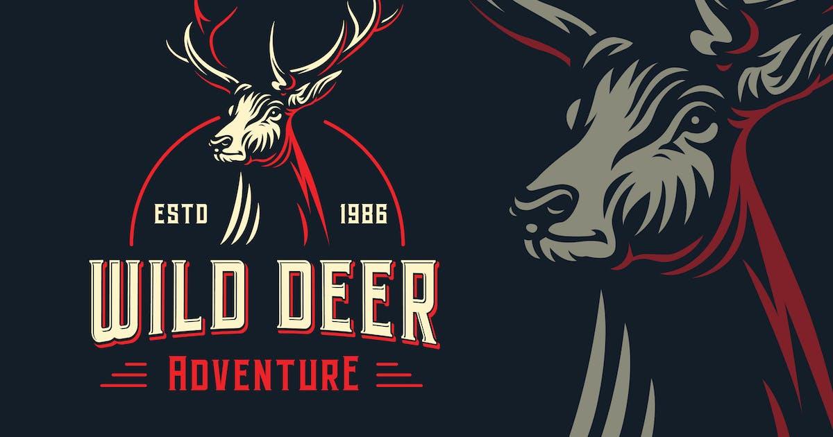 Download Wild Deer Outdoor Logo Template by Blankids