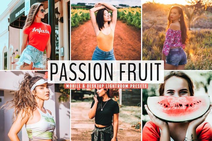Thumbnail for Passion Fruit Mobile & Desktop Lightroom Presets