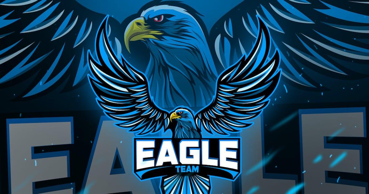 Download Eagles - Mascot & Esport Logo by aqrstudio