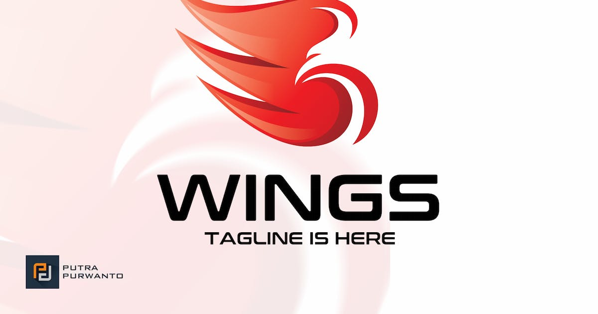 Download Wings - Logo Template by putra_purwanto