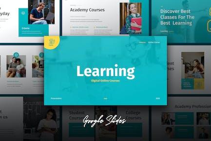 Learning - Education Theme Google Slides