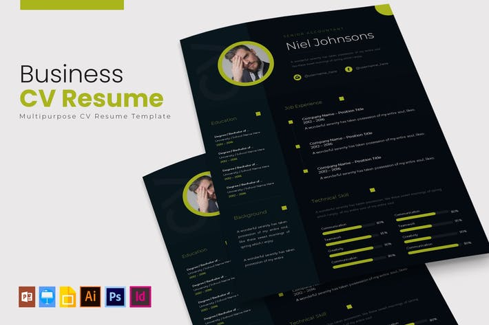 Thumbnail for Business | CV & Resume