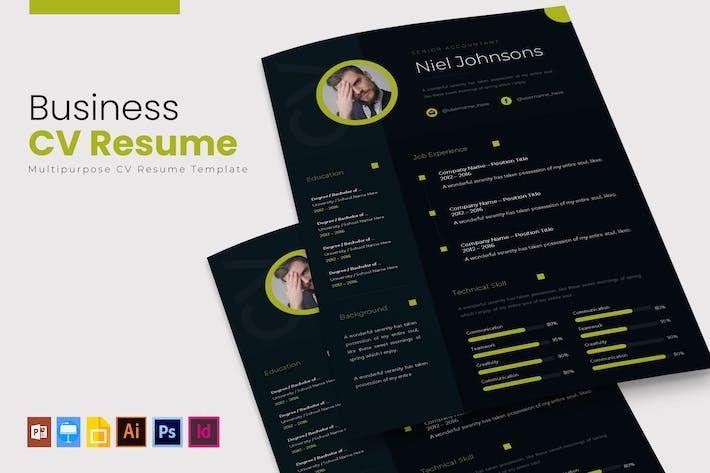 Thumbnail for Бизнес | Резюме и резюме