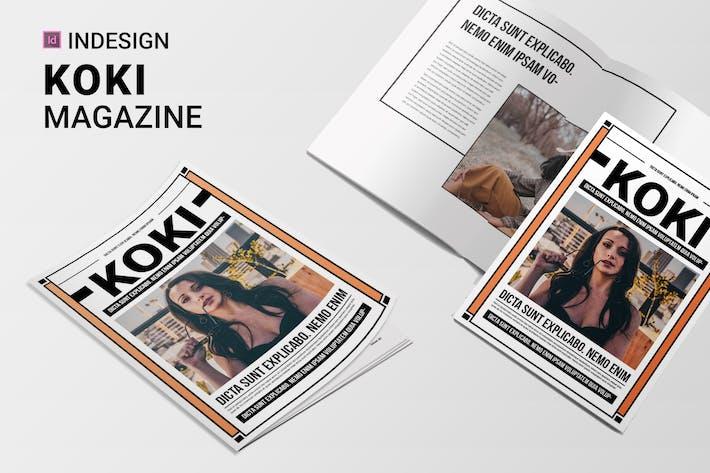 Cover Image For Koki | Magazine