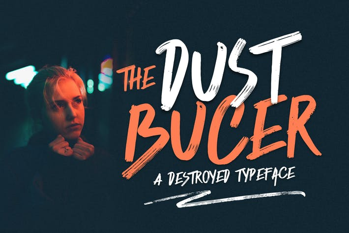 Cover Image For Dust Bucer