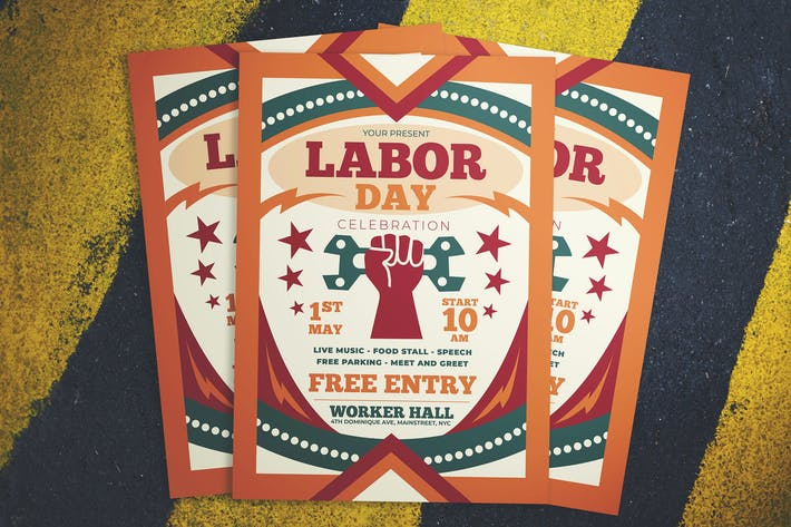Cover Image For Labor Day Celebration Flyer
