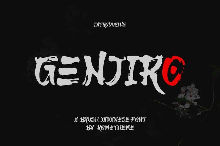 Thumbnail for Genjiro - Fuente Japonesa YR
