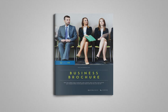 Cover Image For Indesign Business Brochure