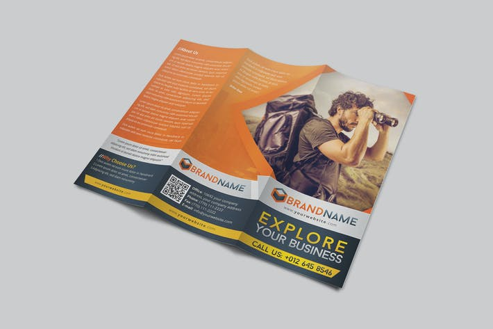 Thumbnail for Multipurpose Corporate Trifold