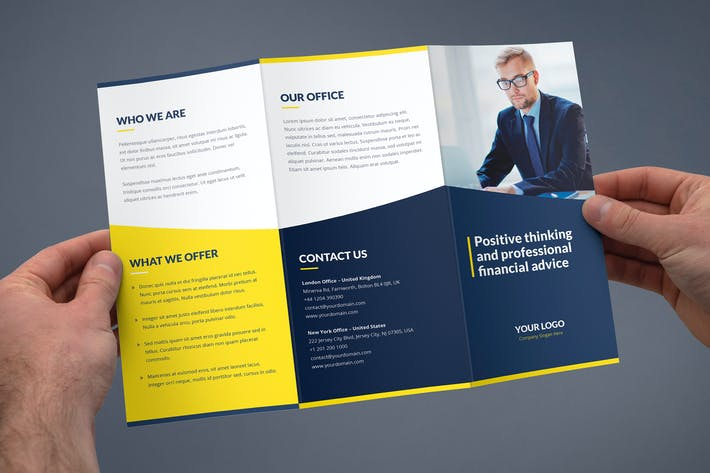 Thumbnail for Brochure – Finance and Business Tri-Fold