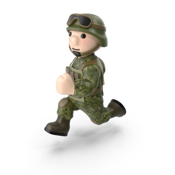 Солдат Бег