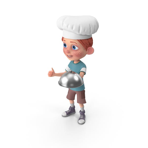 Thumbnail for Cartoon Boy Charlie Chef