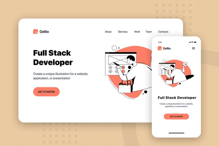 Thumbnail for Full Stack Developer - Banner & Landing Page