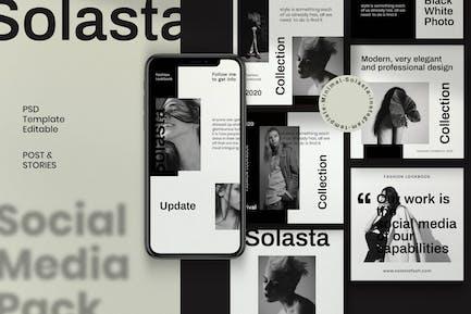 Solasta - Post & Story Instagram Vol.1