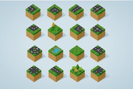 Complete Isometric Tiles series