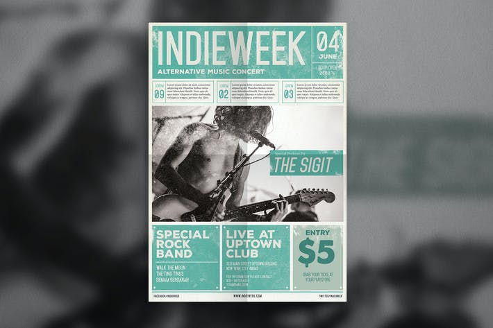 Thumbnail for Indie Newspaper Poster