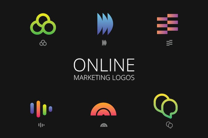 Thumbnail for Online Marketing Logos