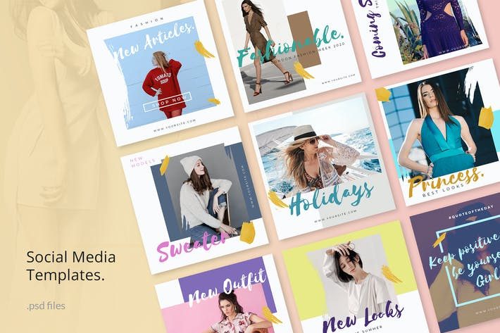 Thumbnail for Social Media Kit Fashion 2