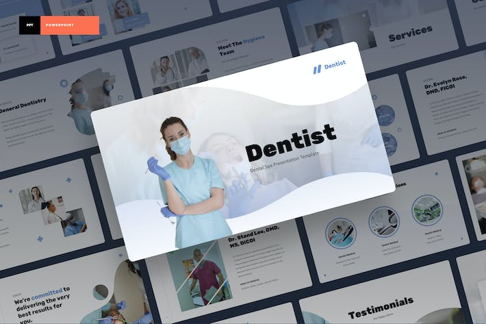 Dentist - Dental Spa Power Point Presentation