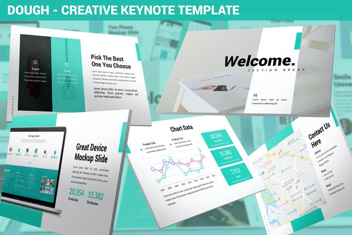 Thumbnail for Dough - Creative Keynote Template