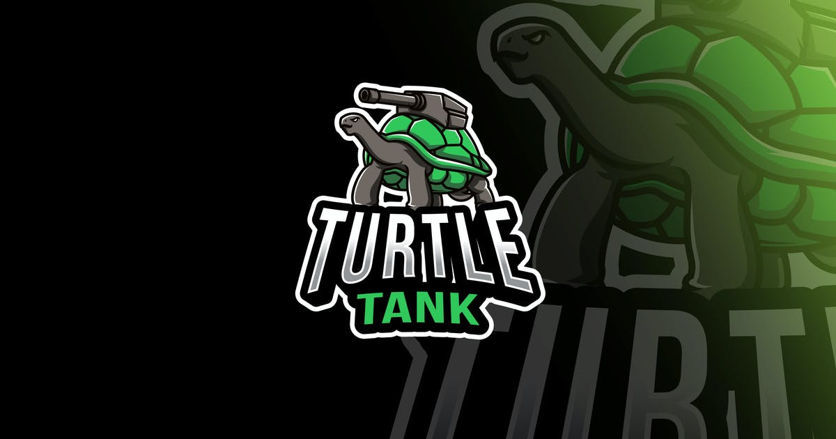 Download Turtle Tank Esport Logo Template by IanMikraz