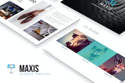 Maxis Keynote Template