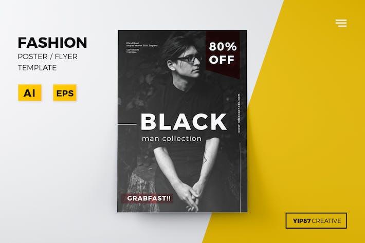 Thumbnail for Man Fashion Flyer