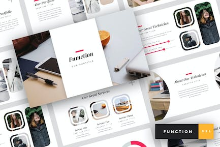 Function - IT Company Google Slides Template