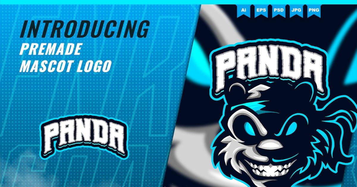 Download Ninja Panda - Mascot Esport Logo Template by FNRGraphics