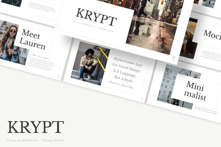 Thumbnail for Krypt - Keynote Template