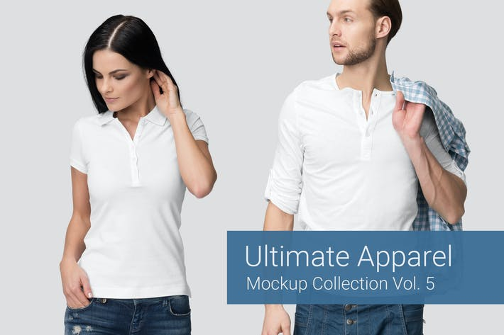 Thumbnail for Ultimate Apparel Mockup Vol. 5