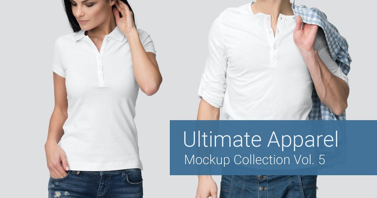 Download Ultimate Apparel Mockup Vol. 5 by Genetic96
