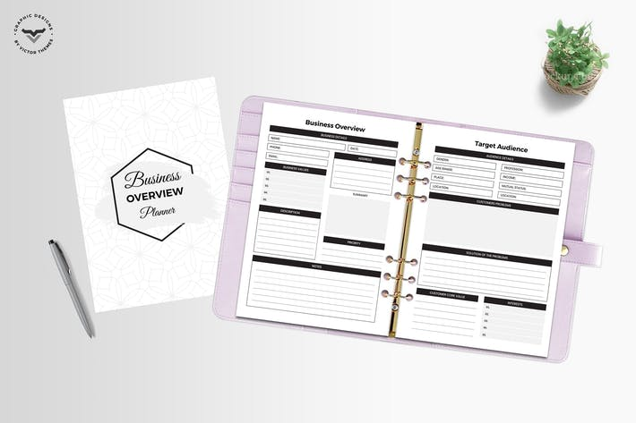 Thumbnail for Business Overview Planner