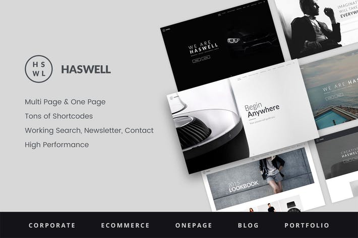 Download Landing Page Templates With PSD Files Included - Multi page newsletter templates