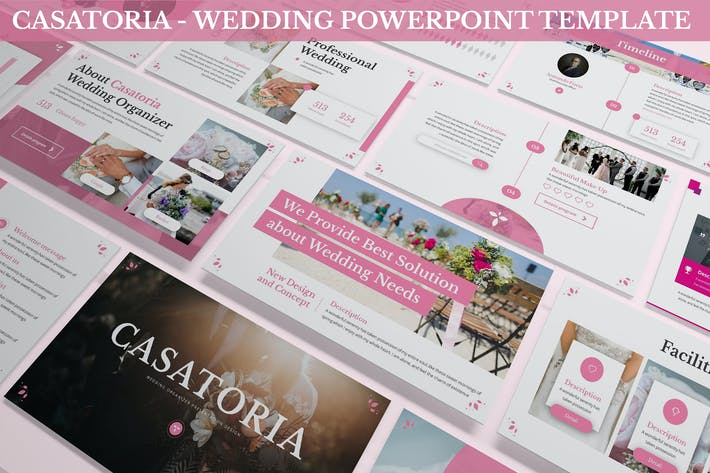 Thumbnail for Casatoria - Wedding Powerpoint Template