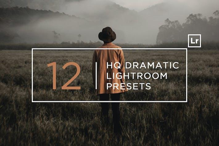12 HQ Dramatic Lightroom Presets