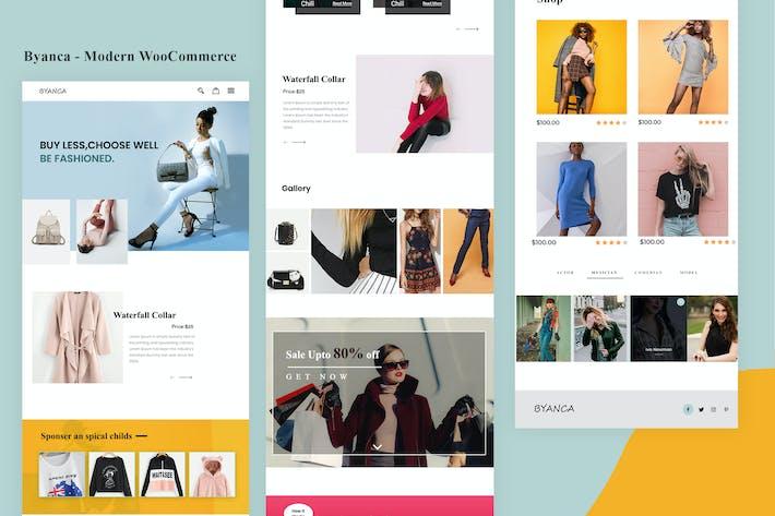 Byanca - Modern WooCommerce Email Newsletter