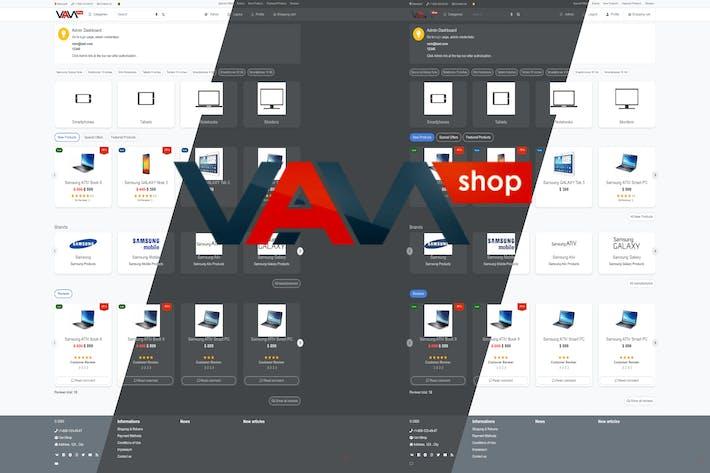 Thumbnail for VamShop eCommerce