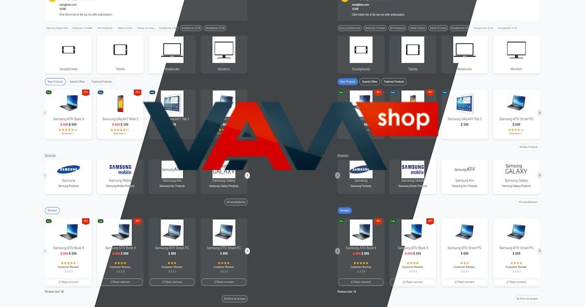 Download VamShop eCommerce by vamshop