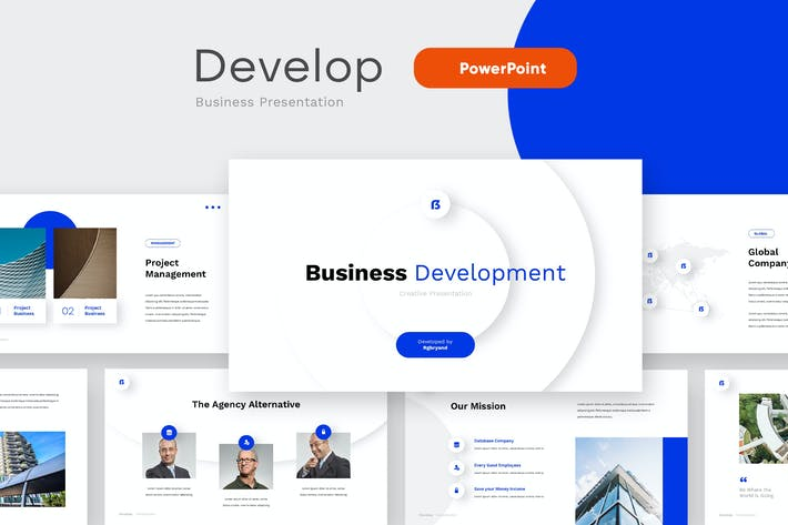 Thumbnail for DEVELOP - Business PowerPoint Vorlage