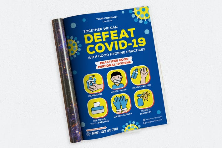 Thumbnail for Defeat Covid-19 Ads Magazine