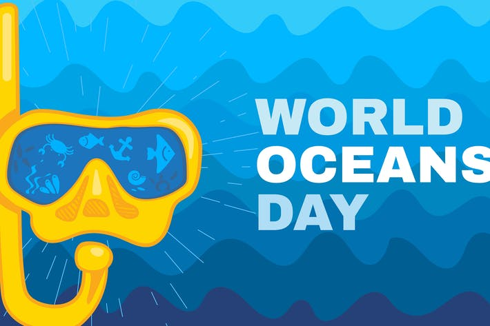 Thumbnail for World Oceans Day Concept Illustration