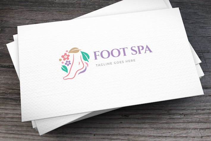 Thumbnail for Foot Spa Logo Template
