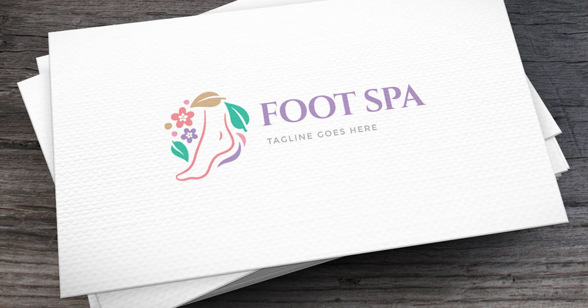 Download Foot Spa Logo Template by empativo