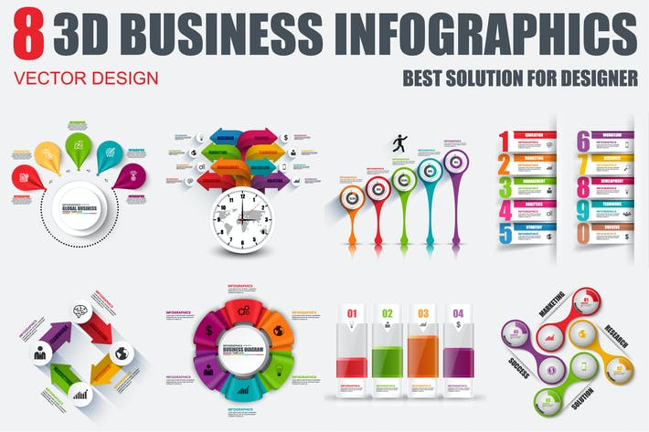 Thumbnail for Business Infographics