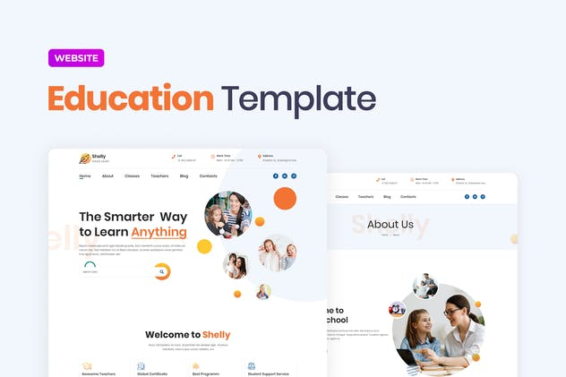 School Website Template - product preview 9