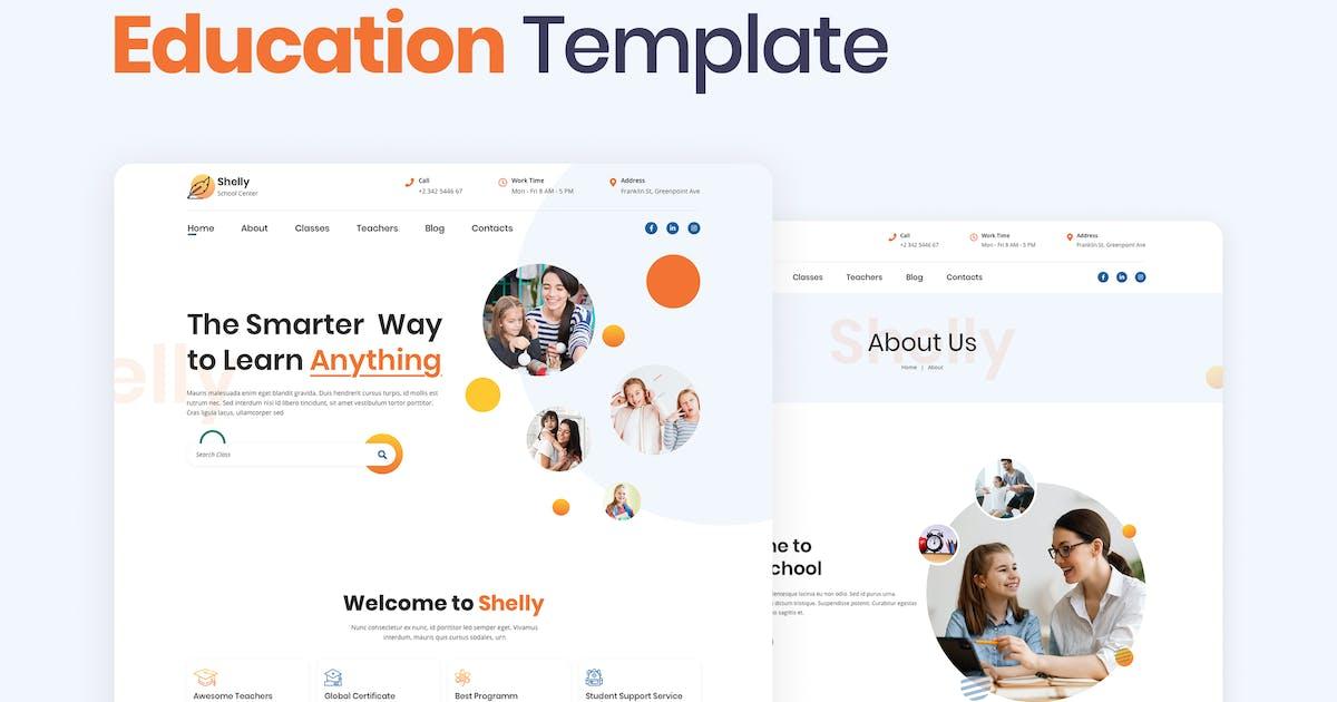 Download School Website Template by merkulove