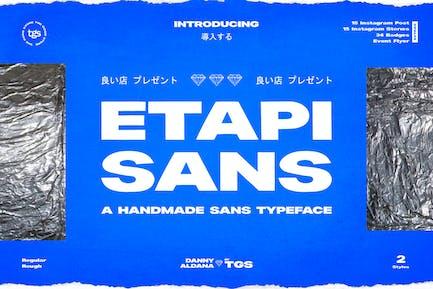 Eapi Sans + Extras (Pack médias sociaux et badge)
