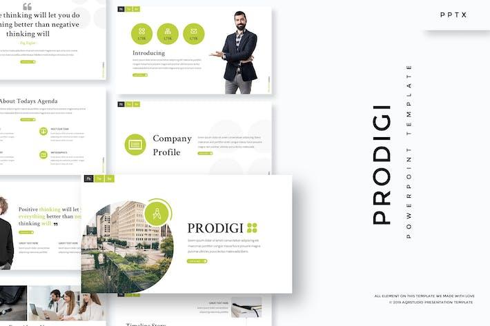 Prodigi - Powerpoint Template