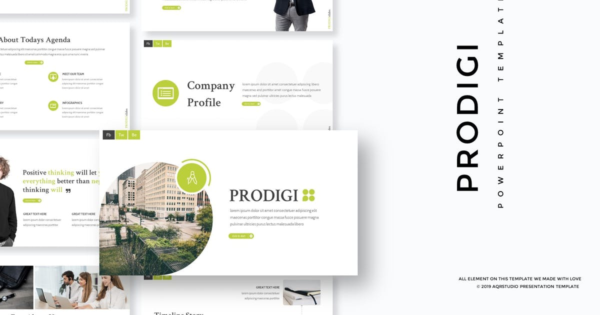 Download Prodigi - Powerpoint Template by aqrstudio